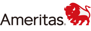Logo for Ameritas dental insurance accepted at Cary NC pediatric dentist