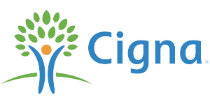 Logo for Cigna dental insurance accepted at Cary NC pediatric dentist