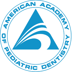 Logo for the american academy of pediatric dentistry